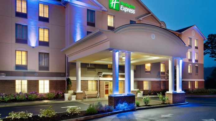 Exterior View Holiday Inn Express Haskell Wayne Area