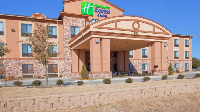 Buitenaanzicht Holiday Inn Express & Suites MINERAL WELLS