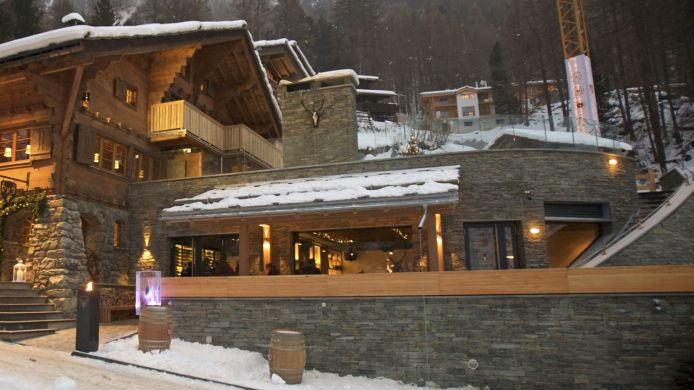 Buitenaanzicht CERVO Mountain Boutique Resort