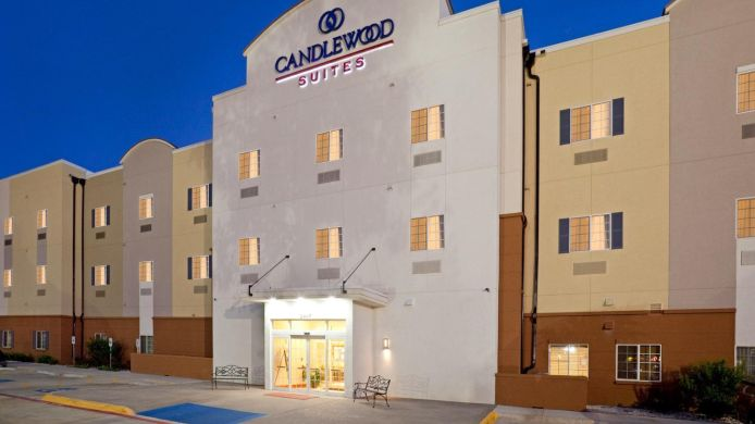 Exterior View Candlewood Suites Mount Pleasant