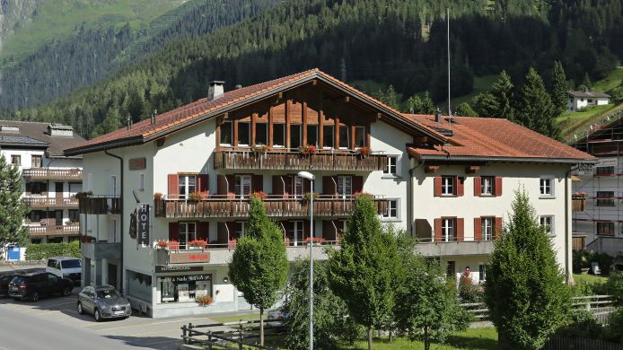 Exterior view Sport-Lodge Klosters