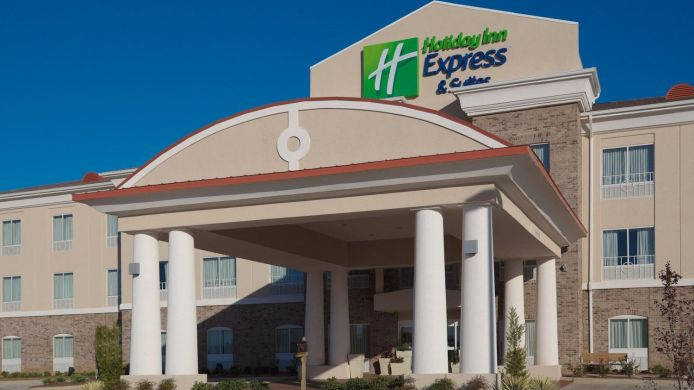 Exterior View Holiday Inn Express Suites Winona North