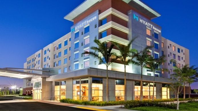 Buitenaanzicht Hyatt Place Ft Lauderdale Airport and Cruise Port