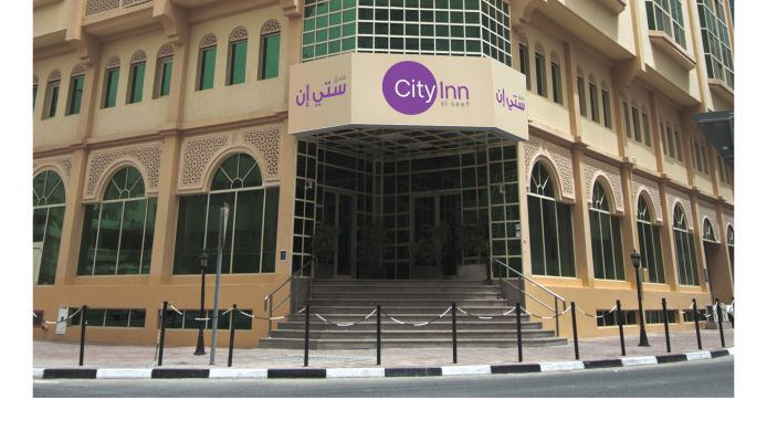 Exterior view City Inn Al Seef
