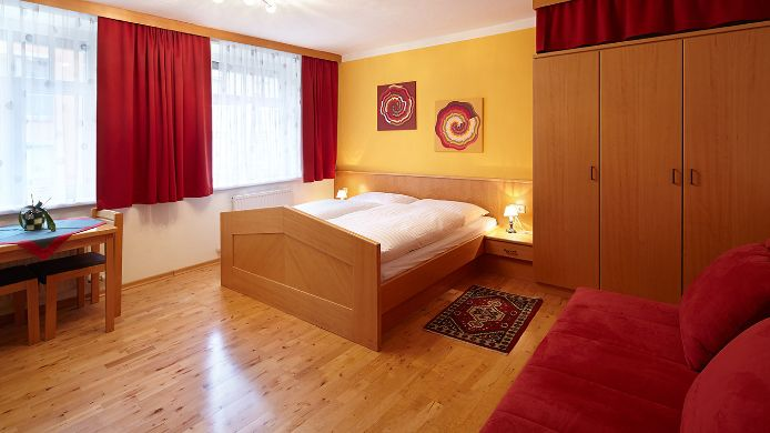 Double room (standard) Bayer Wohlfühlappartements