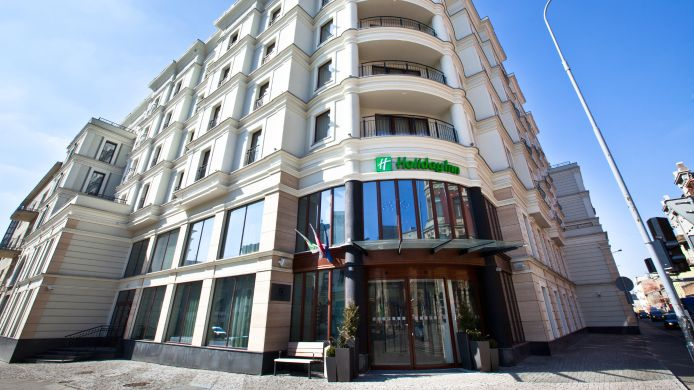 Buitenaanzicht Holiday Inn LODZ