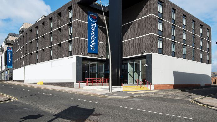 Exterior view TRAVELODGE SUNDERLAND HIGH STREET WEST