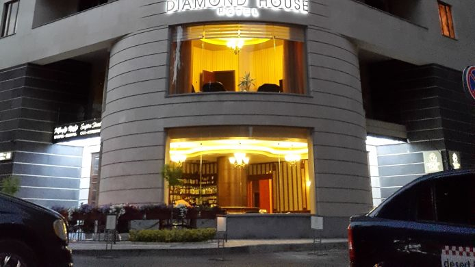 Exterior view Diamond House Hotel