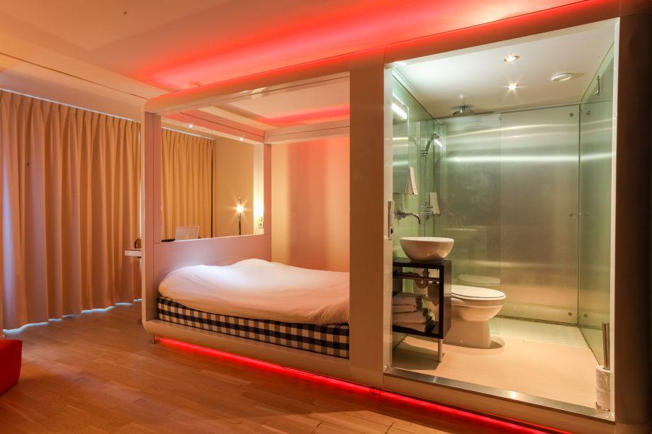 Hotel Qbic Amsterdam Wtc Amsterdam 3 Sterne Hotel